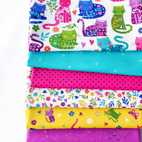 Katie's Cats Fat Quarter Bundle