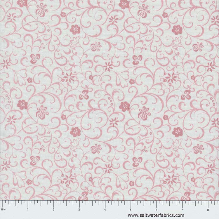 Modern Lace - Whitework in Pink