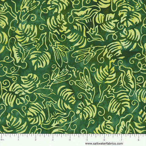 Fresh Batiks - Botanica in Green
