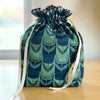Lined Drawstring Bag Kit - Perennial