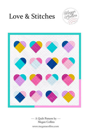 Love & Stitches Quilt Pattern