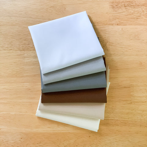 Neutral Solids Fat Quarter Bundle