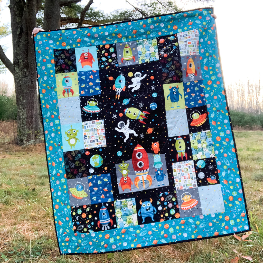 Outer Space Panel Quilt Kit