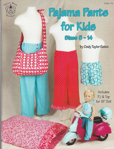 Pajama Pants for Kids Pattern