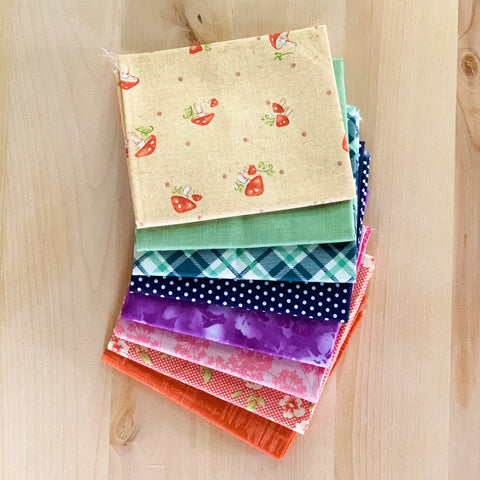 Subtle Rainbow Fat Quarter Bundle