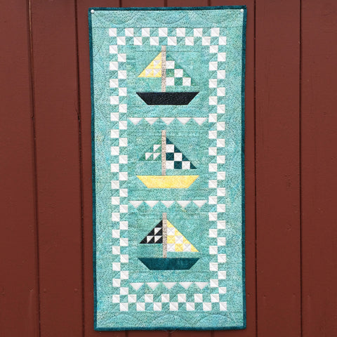 Mini Sail Away Quilt Kit