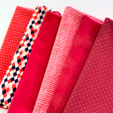 Scarlet Skies Fat Quarter Bundle