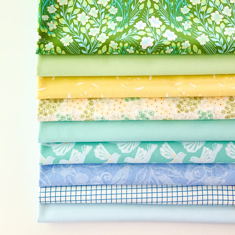 Sea Glass Fat Quarter Bundle