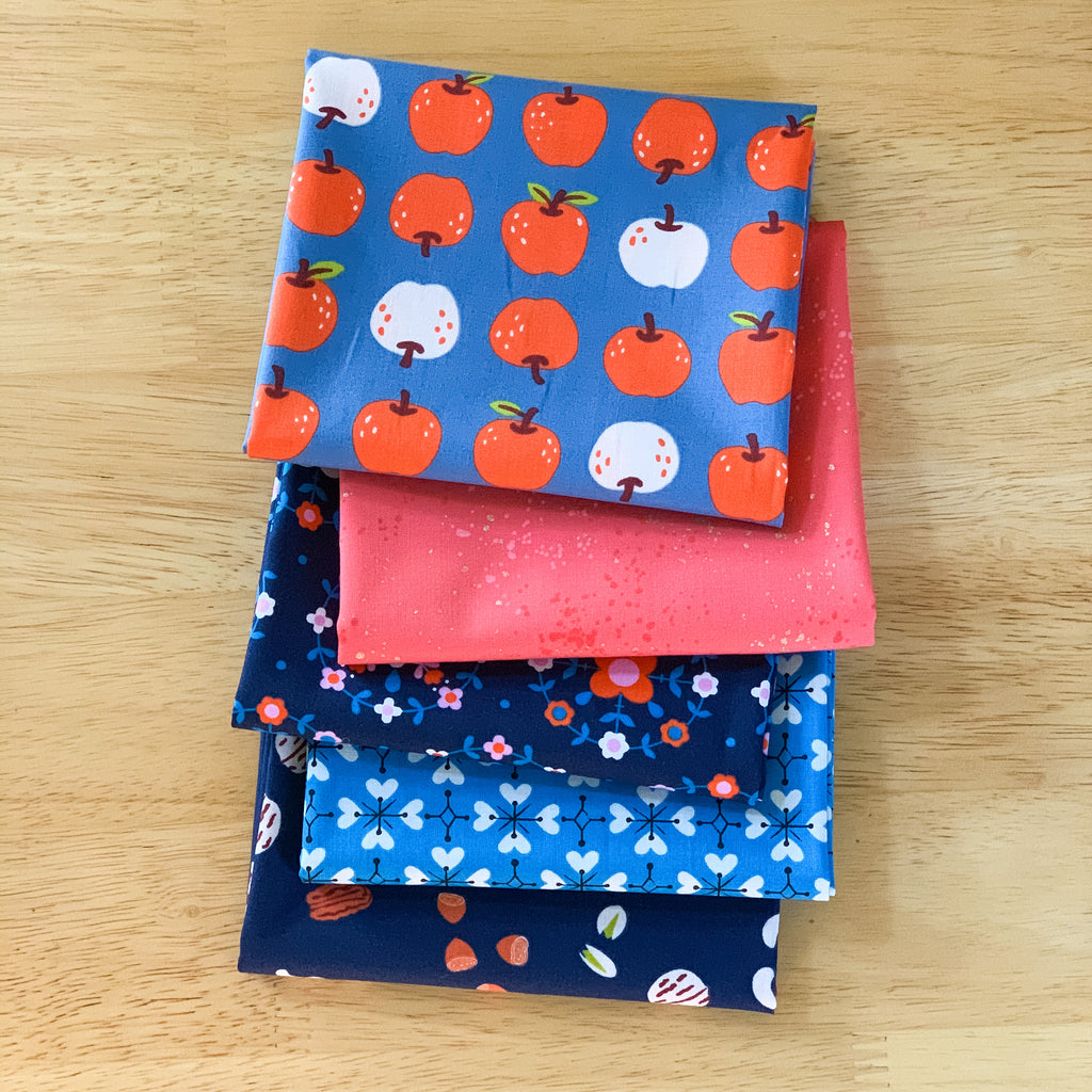 Smol in Denim Fat Quarter Bundle