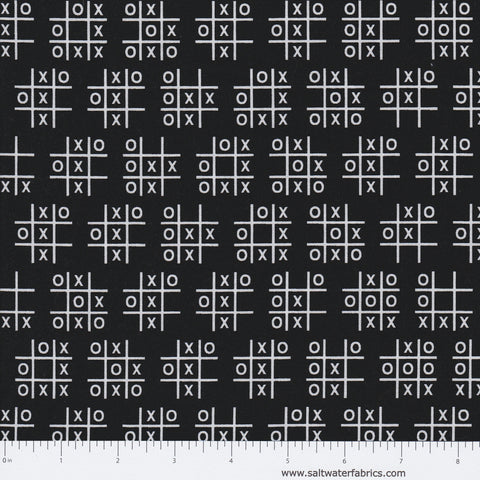 Tic Tac Toe in Black