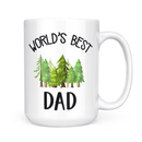 World's Best Dad Mug - Coffee Mug - GIFTABLE GOODIES
