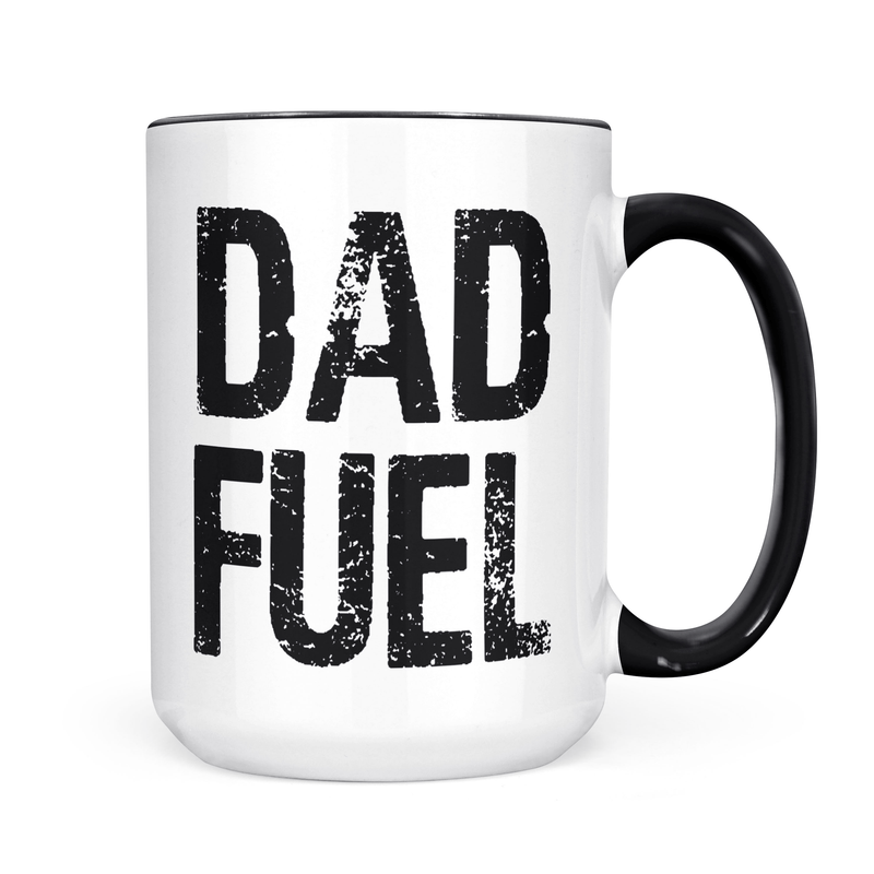 Dad Fuel Coffee Mug - Coffee Mug - GIFTABLE GOODIES