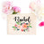 "Personalized Makeup Bag ""The Rachel"" - Cosmetic Bag - GIFTABLE GOODIES"