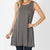 Mellow Oversized Charcoal Tank with Pockets