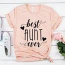 CLEARANCE - Best Aunt Ever T-Shirt (Unisex Large) -  - GIFTABLE GOODIES