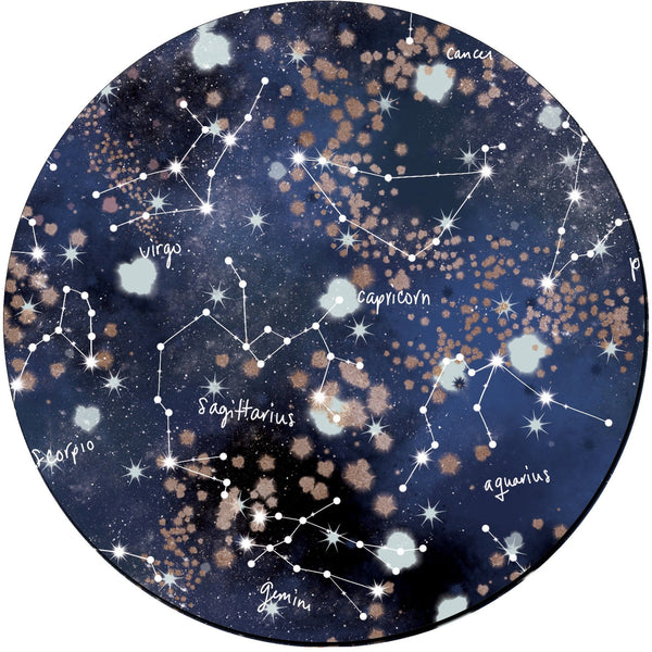 Zodiac Constellation Mouse Pad - Mouse Pad - GIFTABLE GOODIES