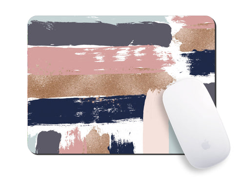 Brush Strokes Mouse Pad