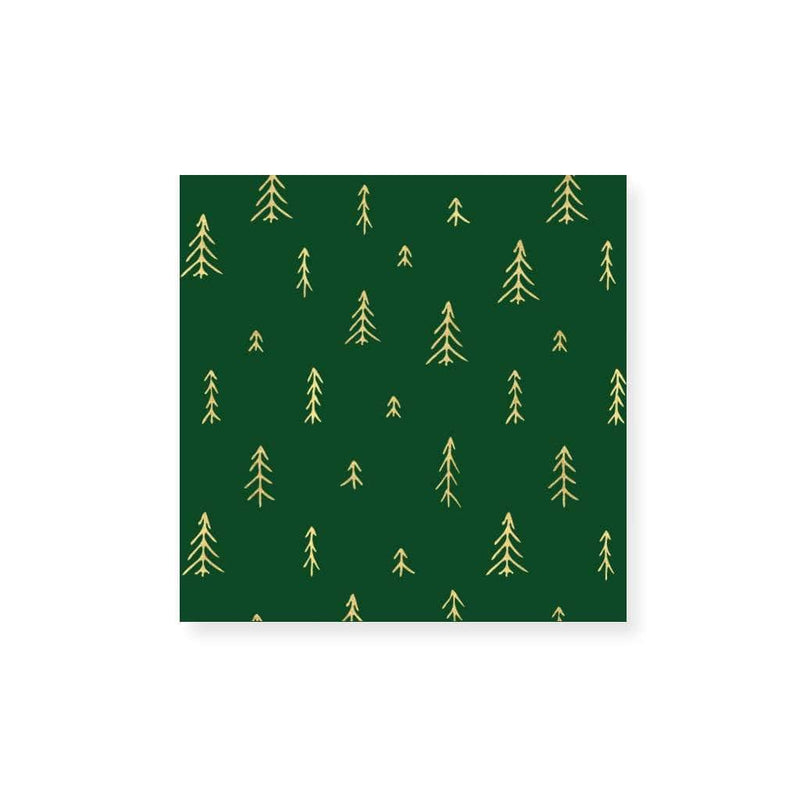 Small Match Box - Christmas Trees