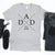 DAD T-Shirt with Personalized Year - T-Shirts - GIFTABLE GOODIES