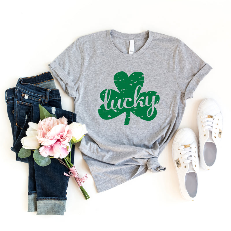 Lucky Distressed T-Shirt