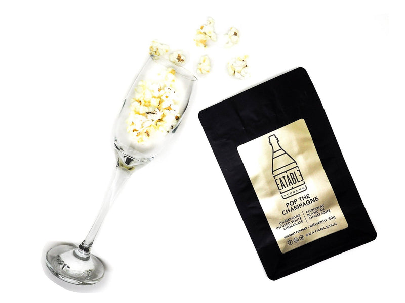 Pop The Champagne Gourmet Popcorn - 50g Bag