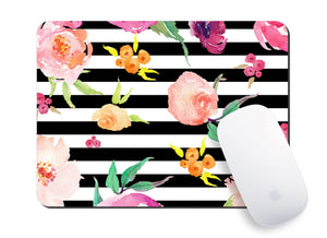 Floral Whimsy Mouse Pad