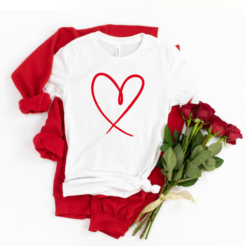 Heart Outline T-Shirt