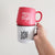 Merry and Bright Matte Red Mug