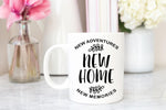 New Home Mug | Housewarming Gift | Housewarming Mug | New Home New Adventures New Memories | Coffee Cup New Home Owner | Giftable Goodies