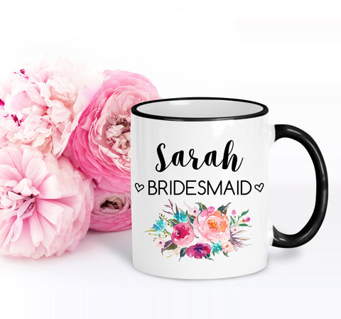 Bridesmaid Gift | Bridesmaid Mug for Proposal