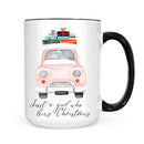 Just a Girl Who Loves Christmas with Truck Mug