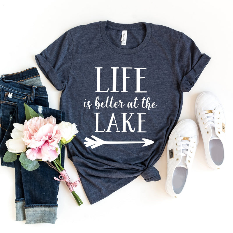 CLEARANCE - Life is Better at the Lake (Unisex Large) -  - GIFTABLE GOODIES