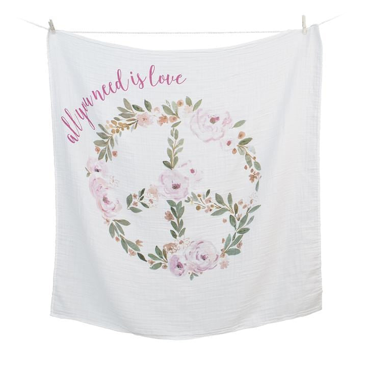 All You Need Is Love First Year Blanket and Cards Set