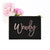 Personalized Makeup Bag - Cosmetic Bag - GIFTABLE GOODIES