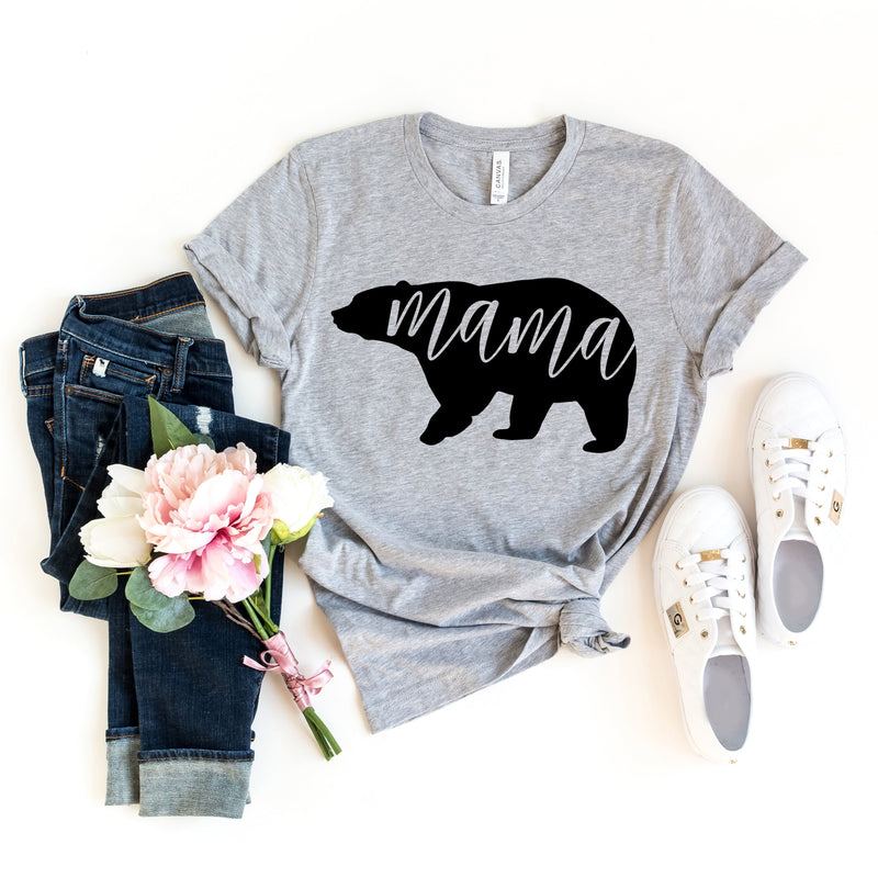 Mama Bear T-Shirt - T-Shirts - GIFTABLE GOODIES