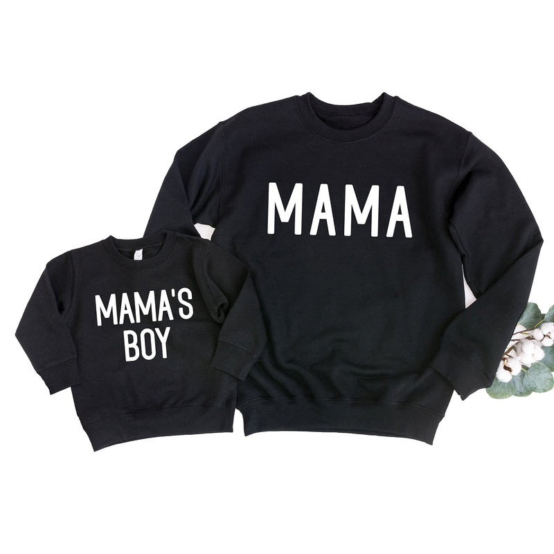 Mama and Me Matching Sweatshirts