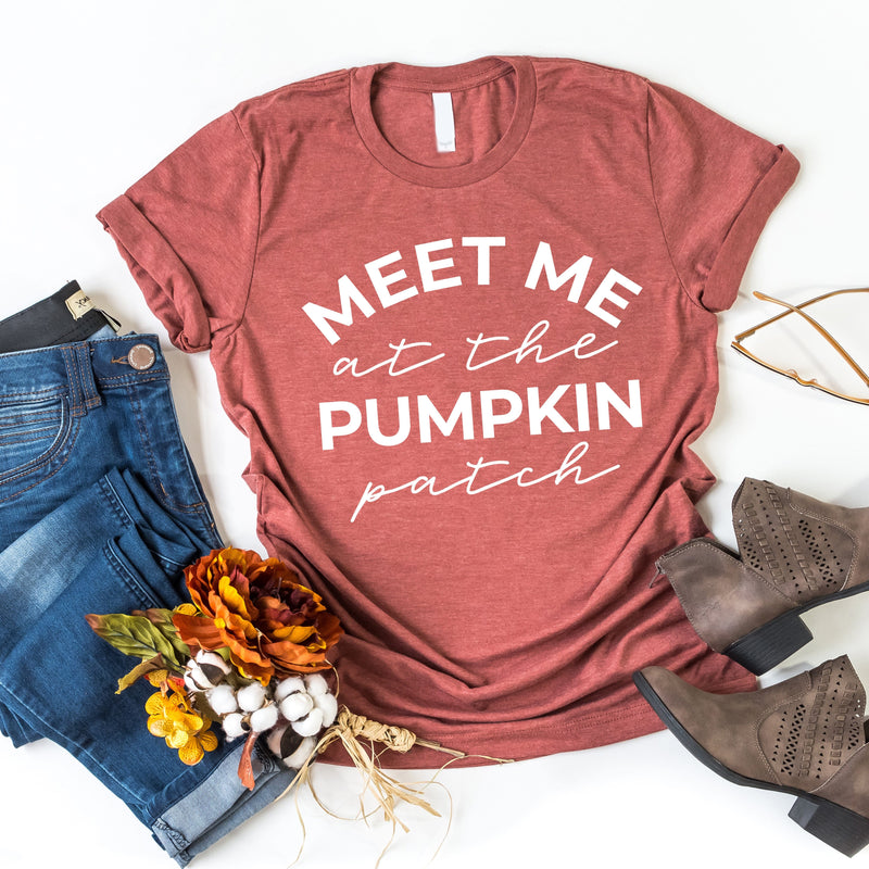 Meet Me At The Pumpkin Patch T-Shirt - T-Shirts - GIFTABLE GOODIES
