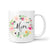 Floral Wreath Mom Mug