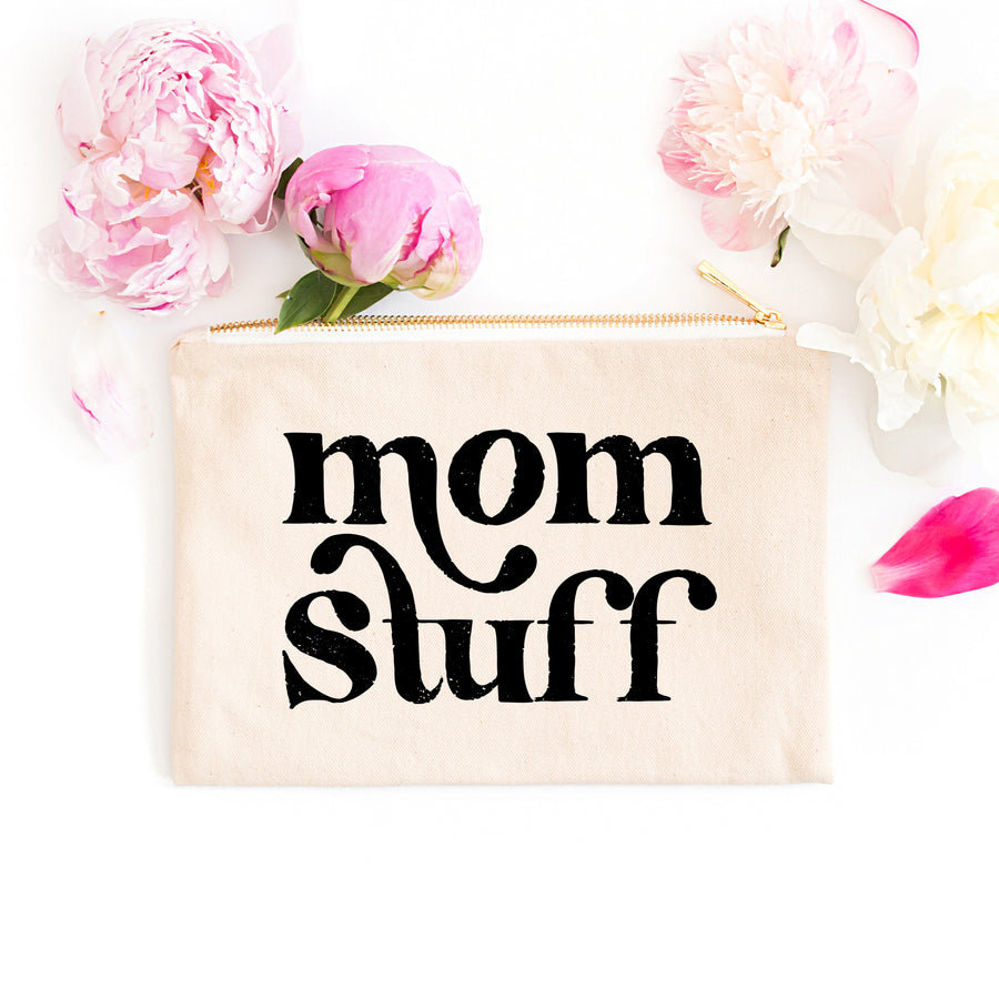 Mom Stuff Zipper Bag
