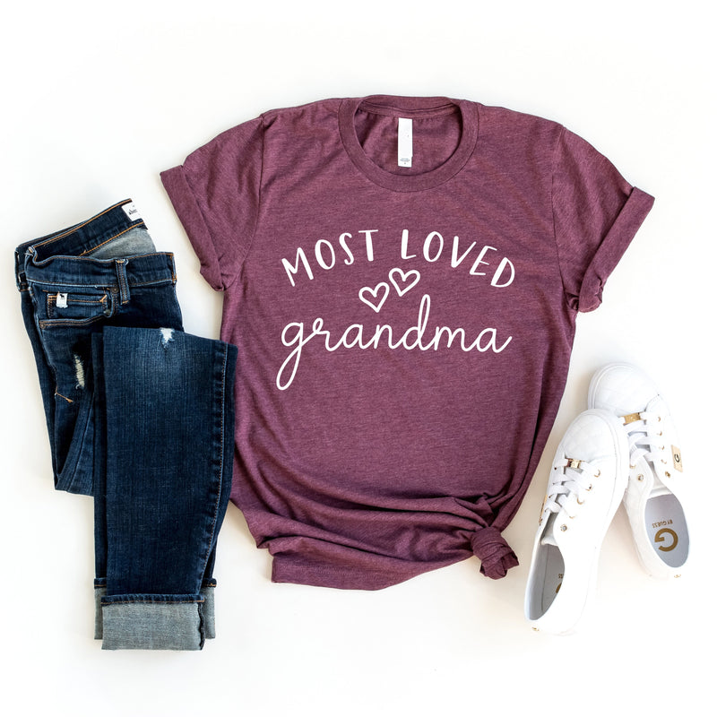 CLEARANCE - Most Loved Grandma T-Shirt -  - GIFTABLE GOODIES