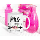 Personalized Mrs Mug - Coffee Mug - GIFTABLE GOODIES