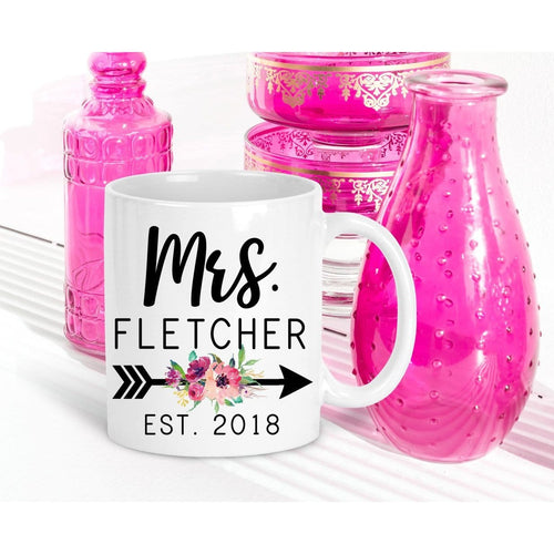 Personalized Mrs Mug