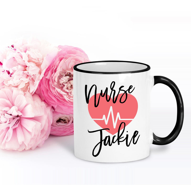 Personalized Nurse Mug - Coffee Mug - GIFTABLE GOODIES