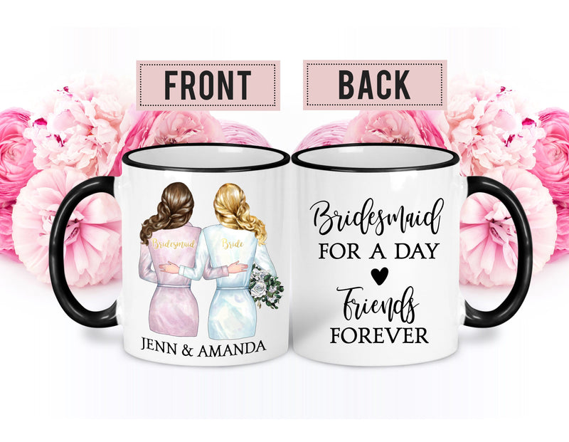 Personalized Bridal Party Gift - Coffee Mug - GIFTABLE GOODIES