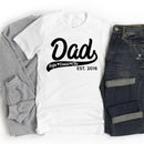 Personalized Dad T-Shirt - T-Shirts - GIFTABLE GOODIES