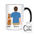 Personalized Dog Dad Mug