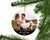 Personalized First Christmas as Mr and Mrs Photo Ornament