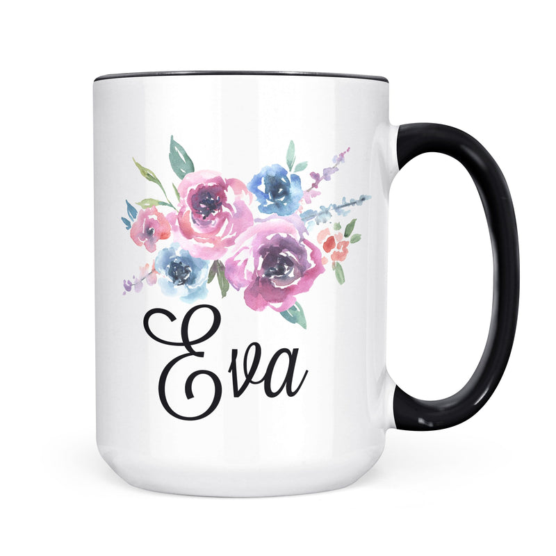 Personalized Name Mug (Floral 2)