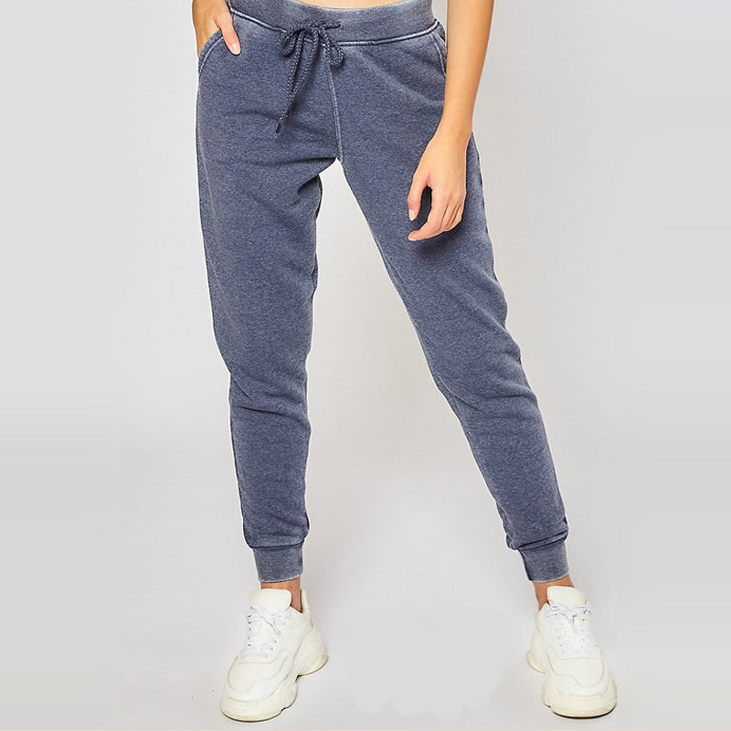 Chill Mode Burn Out Navy Joggers