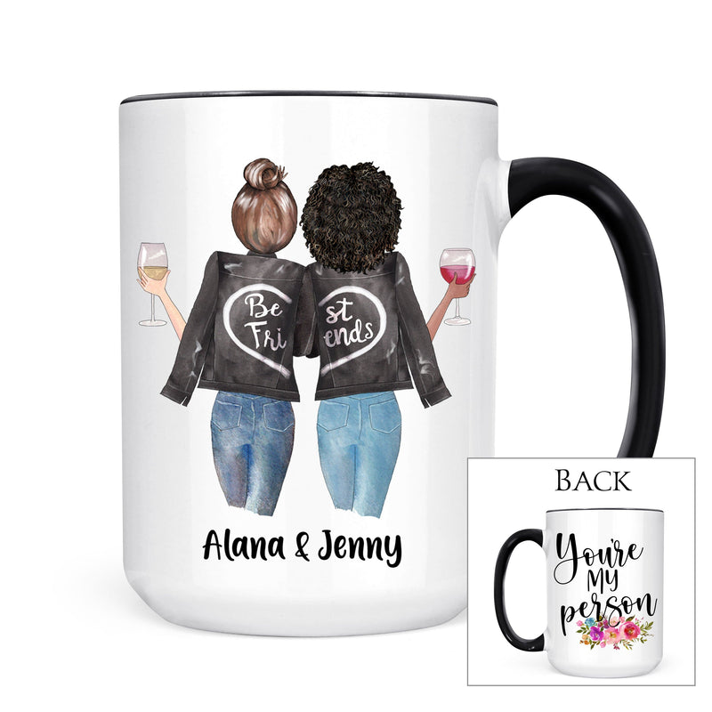 Personalized Best Friends Mug - Coffee Mug - GIFTABLE GOODIES